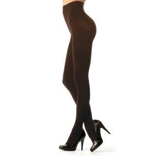 Memoi Women's Perfectly Opaque Longline Shaper Tights