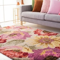 Hand Knotted Bway Wool Area Rug - 8' x 10'