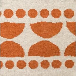 Hand Woven Camerawork Wool Rug (8' x 11')