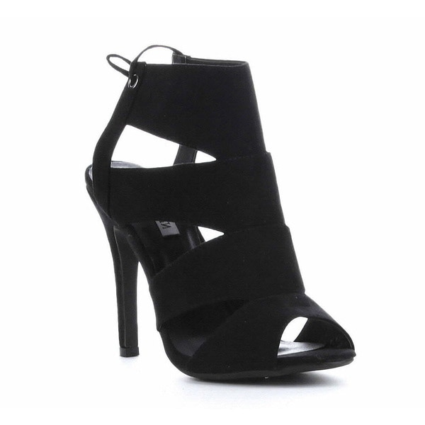 f14f5ea5994 Shop Beston DB03 Women s Caged High Heels - Free Shipping On Orders ...