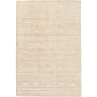 Hand Loomed Branham Viscose/Cotton Area Rug (5 x 76 - Beige)