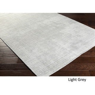 Hand Loomed Branham Viscose/Cotton Rug (5' x 7'6)