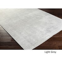 Hand Loomed Branham Viscose/Cotton Area Rug - 5' x 7'6