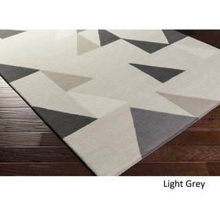 Hand Tufted Embarcadero Wool - New Zealand Rug (5' x 8')