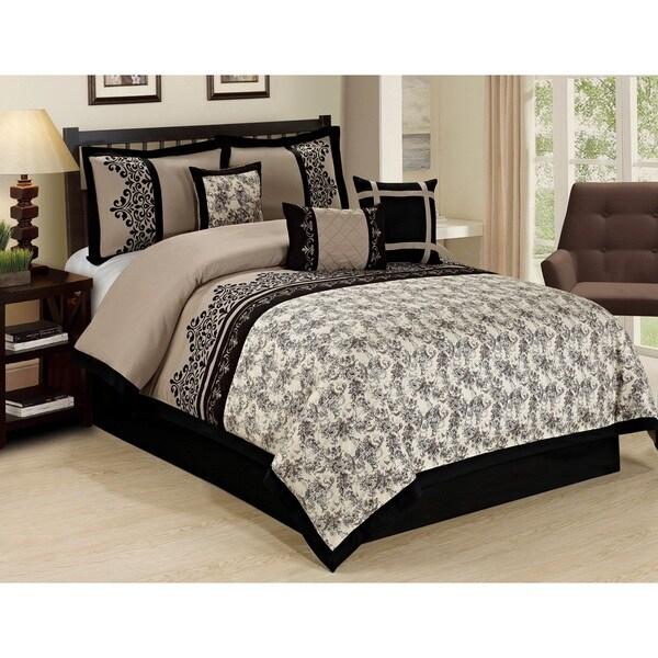 Fashion Street Lupe 7-piece Comforter Set