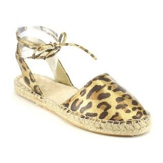 Beston AB05 Women's Leopard Espadrilles