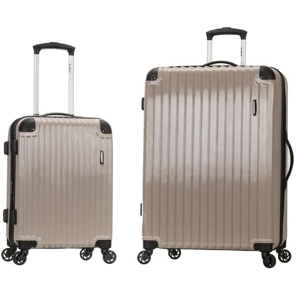 Rockland Santorini 2Piece Hardside Spinner Luggage Set XWqgCsqLj