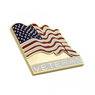 American Veteran Flag Pin
