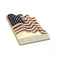 American Veteran Flag Pin