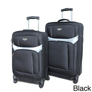 Milano 2-piece Spinner Luggage Set (2 options available)
