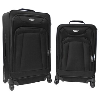 Northpak Milano 2-piece Spinner Luggage Set