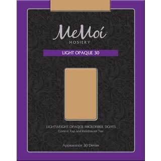 Memoi Women's Light Opaque 30 Denier