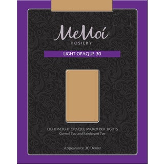 Memoi Women's Light Opaque 30 Denier (More options available)