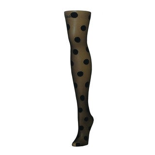 Memoi Women's Super Dots Sheer Tights