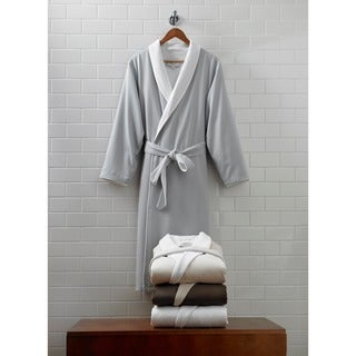 Large/ Extra Large Luxurious Spa Bath Robe in Silver Sage (As Is Item)