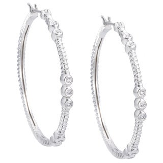EFFY Final Call 14k White Gold Diamond Earrings (D-E,VS1-VS2)