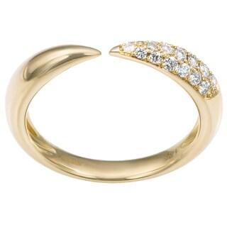 EFFY Final Call 14k Yellow Gold 1/5ct TDW Diamond Ring (D-E, VS1-VS2)