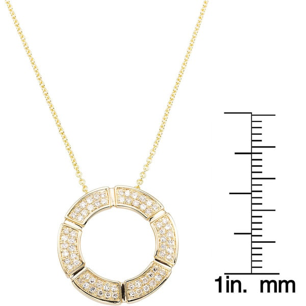 14k Yellow Gold Polished Cut-Out Giraffe Pendant Cable Chain Necklace