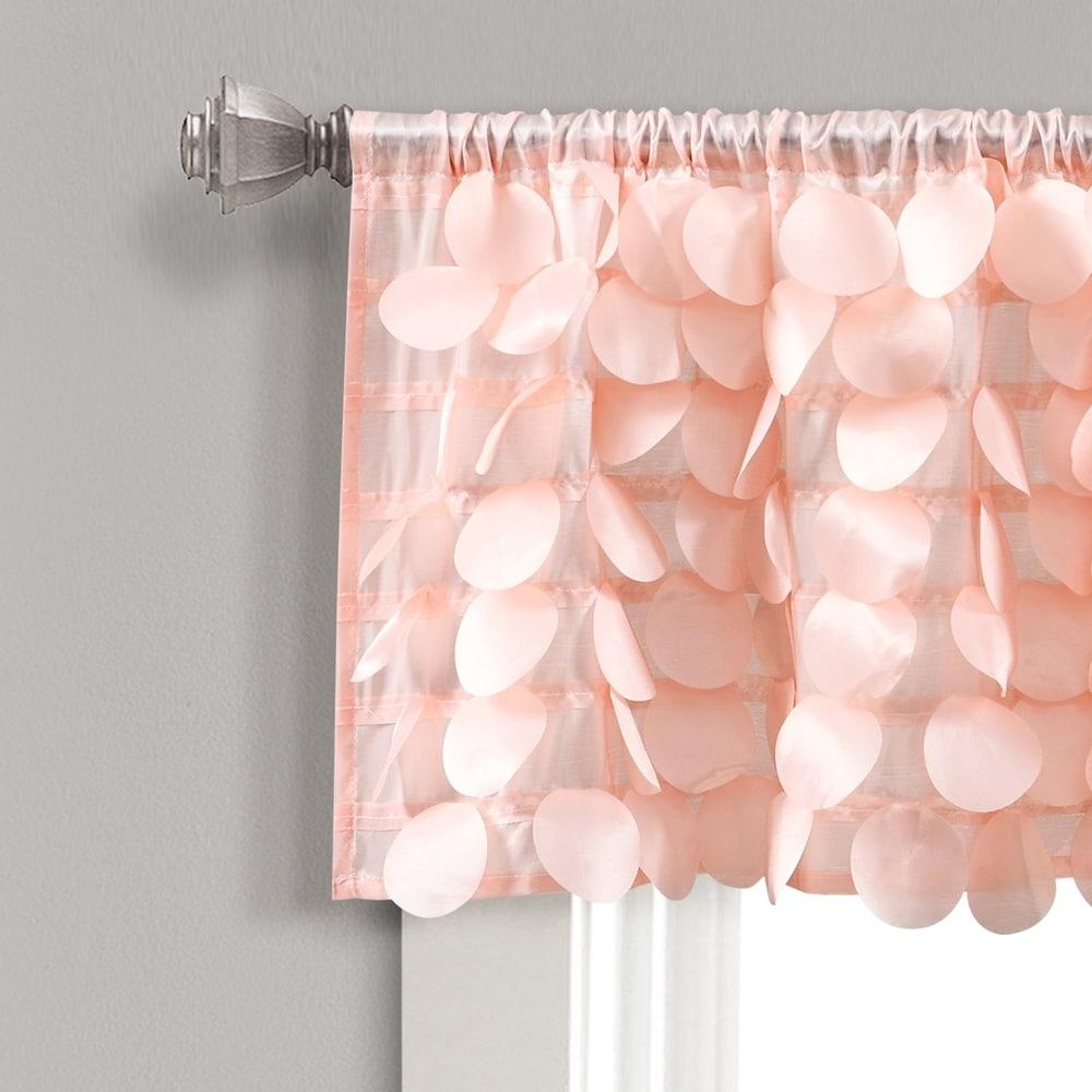 Shop Lush Decor Gigi Window Curtain Valance - 11141986