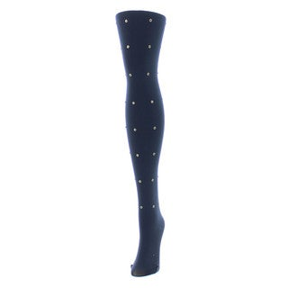 Memoi Women's Diamond Glam Tights