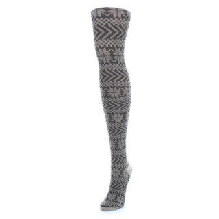 Memoi Women's Snowflake Sweater Tights https://ak1.ostkcdn.com/images/products/11142025/P18140774.jpg?impolicy=medium