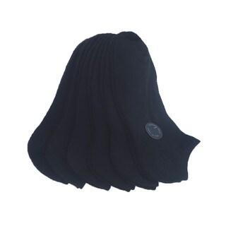Memoi Women's Solid Half Cushion Low Cut (Pack of 6)