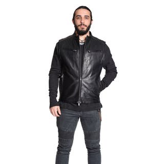 Excelled Men's 100-percent Leather Moto Vest https://ak1.ostkcdn.com/images/products/11142070/P18140815.jpg?impolicy=medium