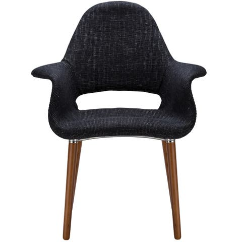 EdgeMod Barclay Dining Chair in Black (Set of 2)