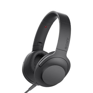 Sony h.ear MDR-100AAP Premium Hi-Res Stereo Headphones, Charcoal Black