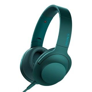 Sony h.ear MDR100AAPL Premium Hi-Res Stereo Headphones, Viridian Blue
