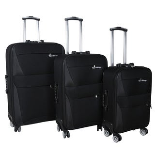 English Laundry 3-piece Expandable Spinner Luggage Set