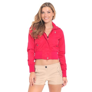 Women's Cropped Bomber Jacket