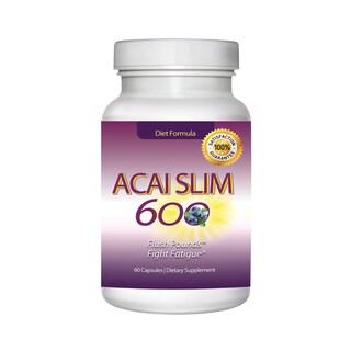 Acai Slim Berry Extract 600mg (60 capsules)