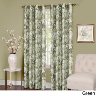 Achim Tranquil Lined Grommet Curtain Panel (2 options available)