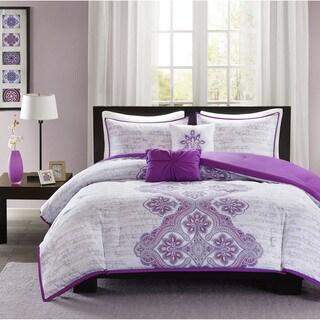 Intelligent Design Hannah 4-Piece Twin Size Comforter Set (As Is Item)