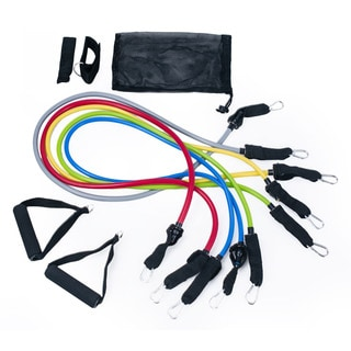 Adeco 10-piece Resistance Band Set