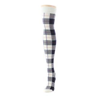 Memoi Women's Tartan Plaid Over The Knee
