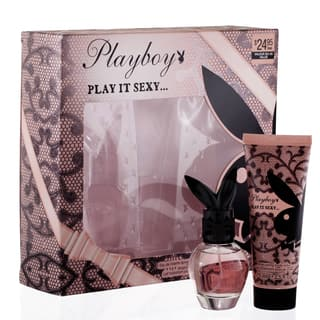 Playboy Play it Sexy Women's 2-piece Fragrance Gift Set https://ak1.ostkcdn.com/images/products/11142499/P18141103.jpg?impolicy=medium