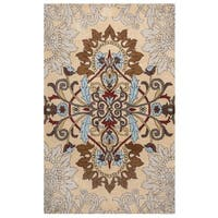 Rizzy Home Palmer Collection Multicolored Medallion Area Rug - 5'x 8'