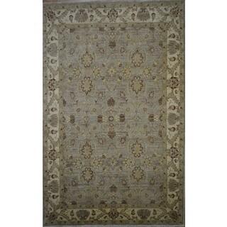 Hand-knotted Super Fine Chobi Wool Rug (6' x 9'4)