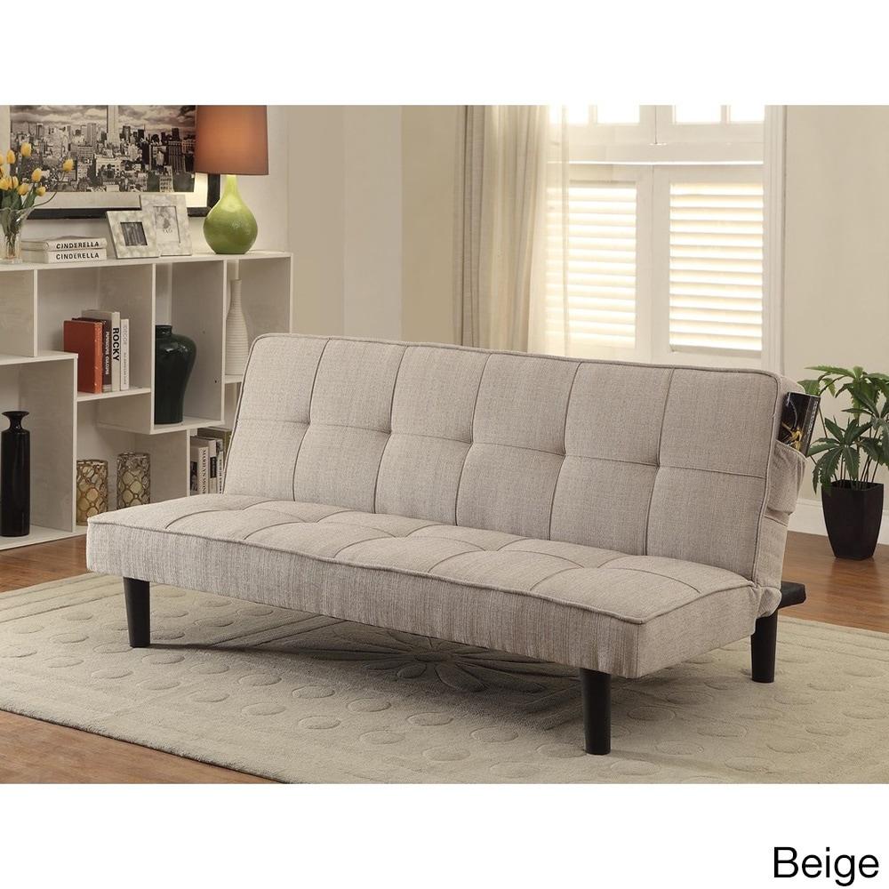 Worldwide Marcus Fabric Futon (Beige), Size Chair