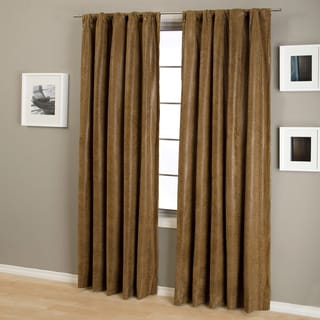 Taft Snake Rod Pocket Curtain Panel