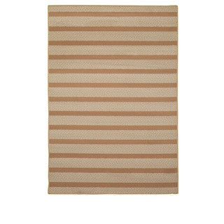 Rizzy Home Glendale Collection Power-loomed Striped Area Rug (6'7 x 9'6)