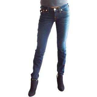 True Religion Women's Jeans Dark Blue Leggings