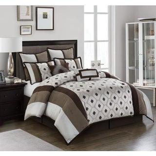Nanshing Grayson Geometric 8-piece Reversible Comforter Set