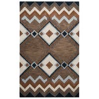 Pueblo Collection TL9147 Area Rug (5' x 8') - 5' x 8'