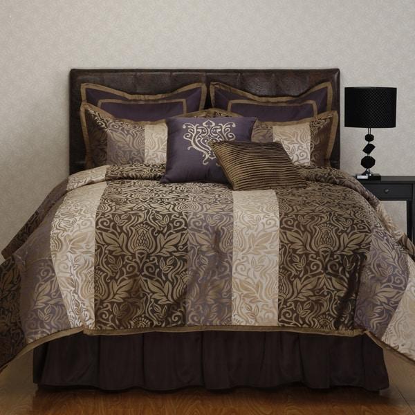Nanshing Laurence Tan Jacquard 8-piece Comforter Set