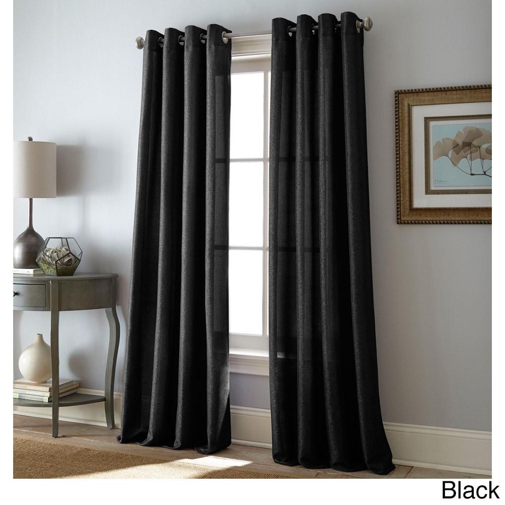 Shop Grand Avenue Kay Grommet-Top Single Curtain Panel - 11142890