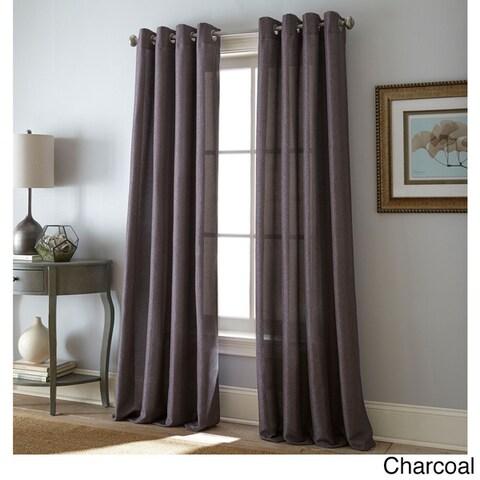 Nanshing Lancer Grommet-Top Single Curtain Panel