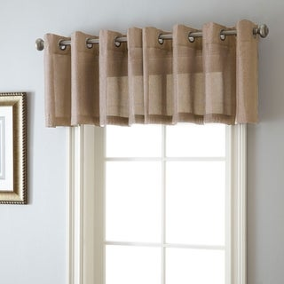 Lancer 54 x 18-inch Grommet-top Curtain Valance